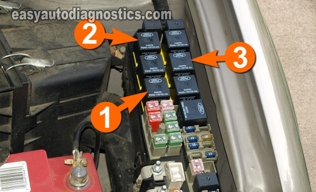 image_E_3 part 1 how to test the cooling fan motors (ford escape mazda Electric Fan Wiring with Switch and Relay Diagram at nearapp.co