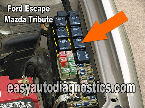 Map Sensor Location 1999 Mercedes Ml320 additionally Ford Ka 2 besides Testing The Escape Cop Coils 6 besides 2004 Ford Expedition Fuse Box also 2012 Ford F150 Fuse Relay Box Diagram. on ford escape fuel pump relay location