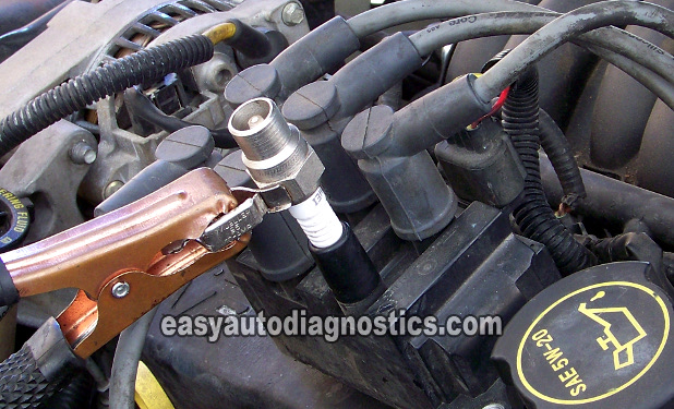 Part 4 How To Test The Coil Pack Ford 30l 38l 40l 42lrheasyautodiagnostics: Ford Taurus Coil Pack Location At Elf-jo.com