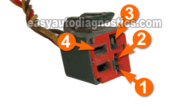 image_15 part 1 how to test the ford fuel pump relay (green relay) 2001 f150 fuel pump wiring diagram at fashall.co