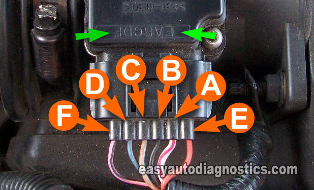 part 2 how to test the ford mass air flow maf sensor how to test the ford mass air flow maf sensor