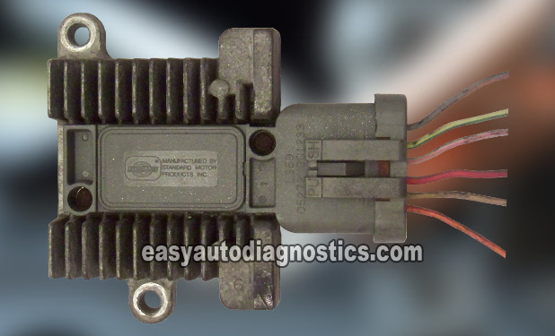 image_1 E part 1 how to test the ford ignition control module (fender mounted) 351 Windsor Ignition Wiring Diagram at gsmx.co