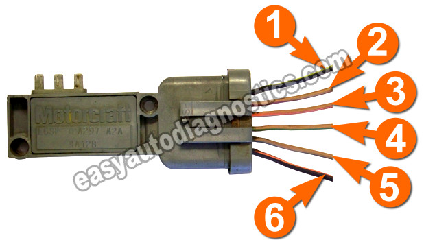 Part 1 How To Test The Ford Ignition Control Module Distributor Rheasyautodiagnostics: 89 Ford Ignition Module Wiring Diagram At Elf-jo.com