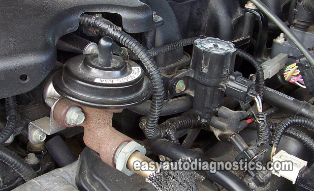 Part 1 How To Test The Ford Egr Valve Egr Vacuum Solenoid
