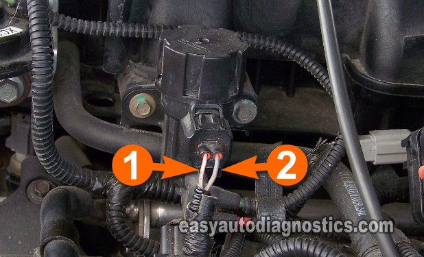 Part 4 How To Test The Ford Egr Valve Egr Vacuum Solenoid