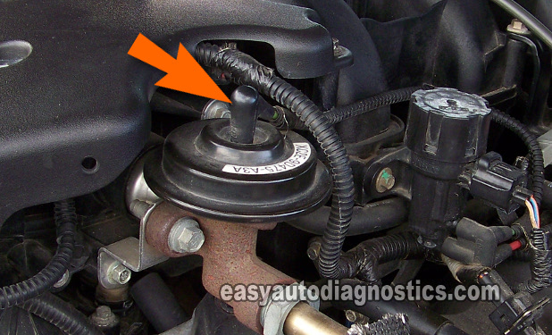 Part 2 How To Test The Ford Egr Valve Vacuum Solenoid Dpfe Sensorrheasyautodiagnostics: 1996 Jeep Egr Valve Location At Elf-jo.com