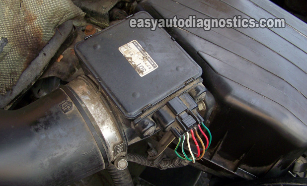 2001 Mazda Tribute Stereo Wiring Diagram in addition 2000 Mitsubishi Montero Sport Engine Diagram moreover P 0900c15280092684 in addition CleanMAF in addition Maf Sensor Diagnostic Tests 1. on maf sensor tests 1
