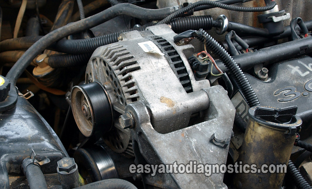 Alternator -98 Ford Taurus, 3.0L (Testing A BAD Alternator: Symptoms And Diagnosis)