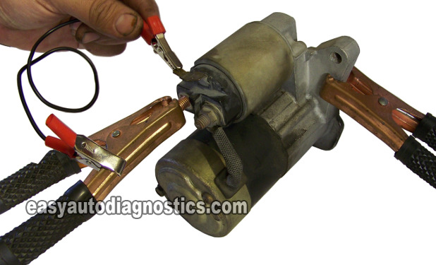 Bench-Testing The Starter Motor. How To Test The Starter Motor On the Car (Step by Step)