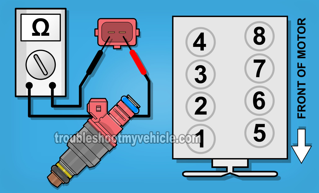 image_2 part 1 how to test the fuel injectors (1997 2002 4 6l f150) International DT466 Injector Wiring at bayanpartner.co