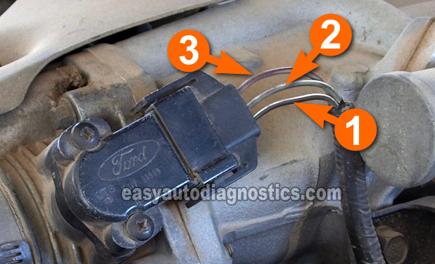Part 1 How To Test The Tps 19911995 40l Ford Explorerrheasyautodiagnostics: Ford Ranger Throttle Position Sensor Wiring Diagram At Gmaili.net