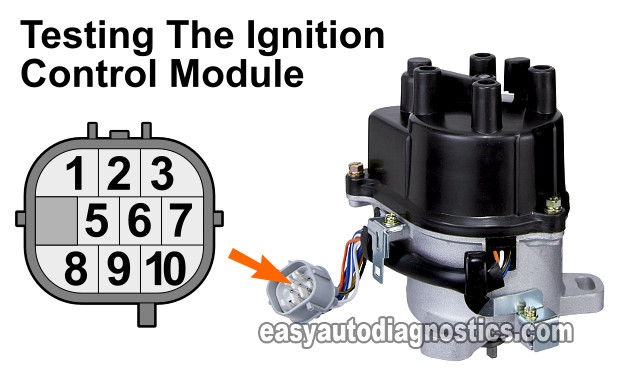 How To Test The Ignition Control Module (1997-1998 2.0L Honda CR-V)