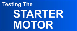 How To Test The Starter Motor (2001-2002 2.7L Dodge Stratus)