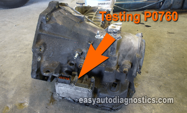 How To Test Diagnostic Trouble Code P0760 (Overdrive Solenoid Malfunction)