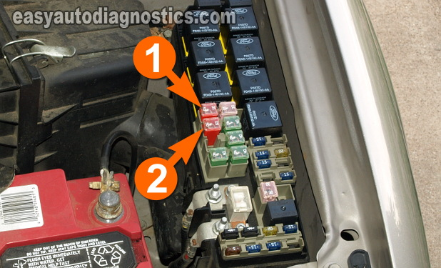 Part 2 How to Test the Cooling Fan Motors Ford Escape