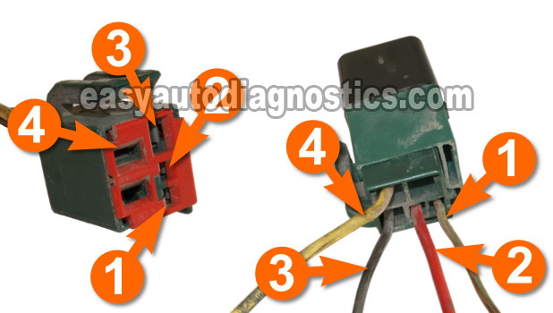 part 1 how to test the ford fuel pump relay green relay rh easyautodiagnostics com 2001 Ford Ranger Fuel Pump Wiring Diagram Ford Ranger 2.9 Wiring-Diagram