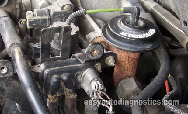 Part 1 How To Test The Ford Egr Valve Egr Vacuum Solenoid Dpfe Sensor