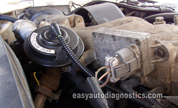 Part 1 -How to Test the Ford EGR Valve EGR Vacuum Solenoid, DPFE Sensoreasyautodiagnostics.com