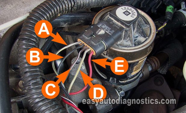 part 4 gm egr valve test p0401 p0403 p0404 p0405 rh easyautodiagnostics com GM EGR Valve and Perch GM EGR Valve Chevy Colorado