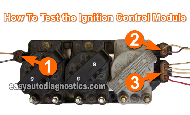 part 1 testing the ignition module and crank sensor gm 3 1997 chevy 5 7 ignition wiring diagram