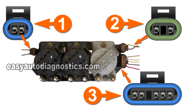 Part 2 Testing The Ignition Module And Crank Sensor GM 31l 34l. Circuit Descriptions Of The Ignition Control Module How To Test And Crankshaft. Buick. 1999 Buick Regal Control Module Diagram At Scoala.co