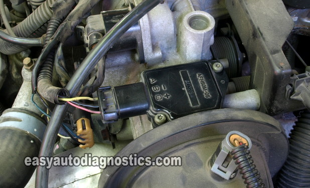how to test the maf sensor (gm 3 8l v6 1996-2005)