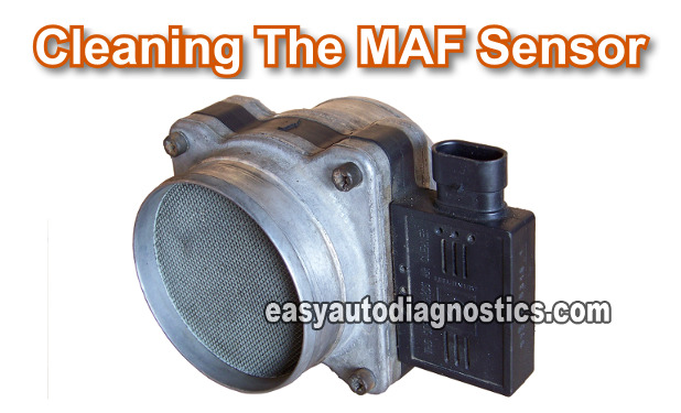 Part 1 -How to Clean the GM M Air Flow (MAF) Sensor Maf Sensor Wiring Diagram Trailblazer X on