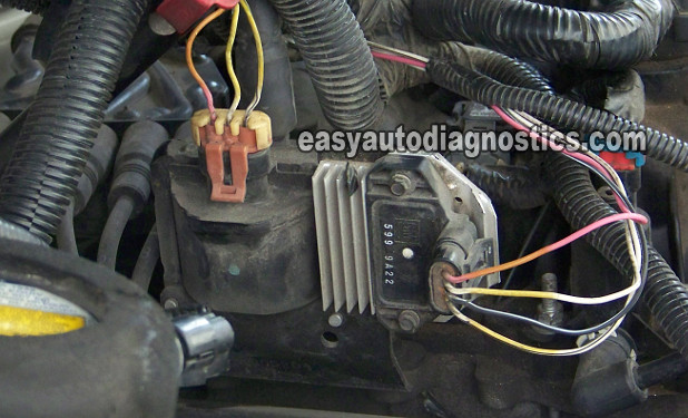 part 1 how to test the gm ignition control module 1995 2005 rh easyautodiagnostics com Points Distributor Wiring Diagram Chevy Venture Ignition Coil Wiring Diagram