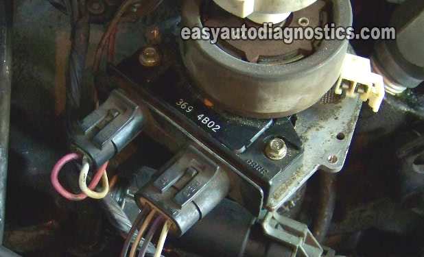 part 1 how to test the gm distributor mounted ignition module 1978 Chevy Truck Wiring Harness 1978 Chevy Truck Wiring Harness