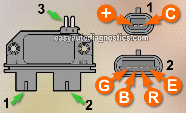 part 2 -how to test the gm distributor mounted ignition module gm icm wiring diagram