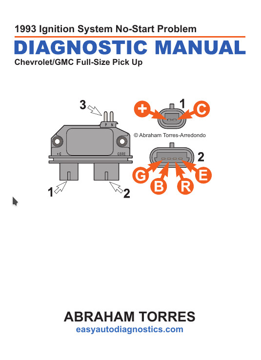 95 Chevy Ignition Wiring Diagram
