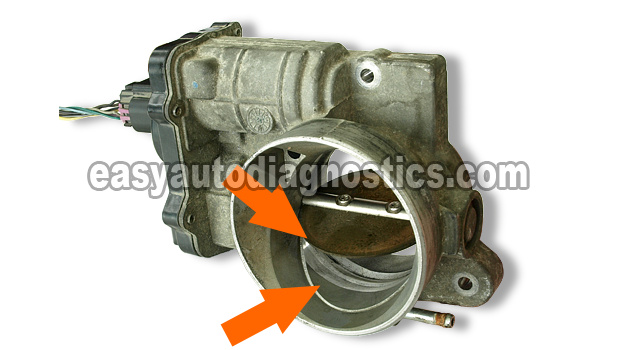 Part 1 -Cleaning the GM Electronic Throttle Body (4 8L, 5 3L