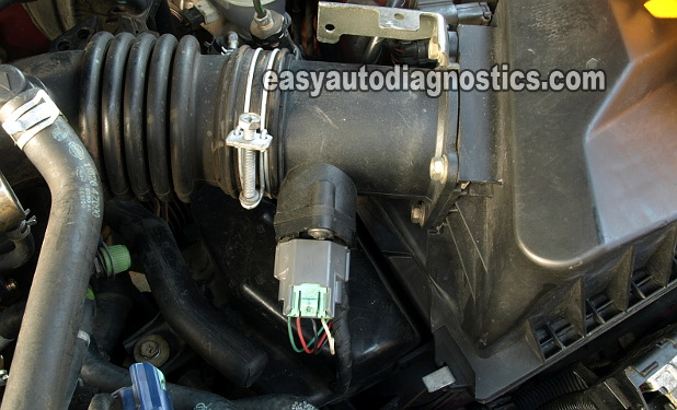 [DHAV_9290]  Part 1 -How to Test the 2000-2002 Nissan Sentra 1.8L MAF Sensor | 02 Sentra Engine Diagram |  | Easy Auto Diagnostics