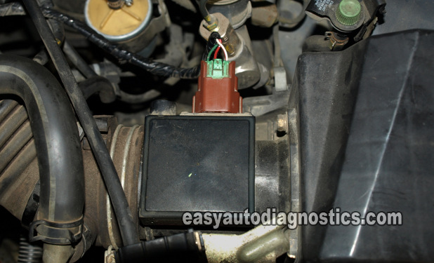 Part 1 Mass Air Flow MAF Sensor Test Nissan Sentra 1 6L