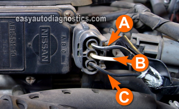 Part 1 -The Basics of Testing a M Air Flow (MAF) Sensor  Bmw Maf Sensor Wire Diagram on