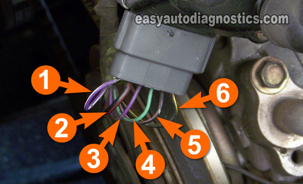 How To Test The Camshaft Position Sensor 2.4L Nissan Frontier, XTerra (1998-2004)