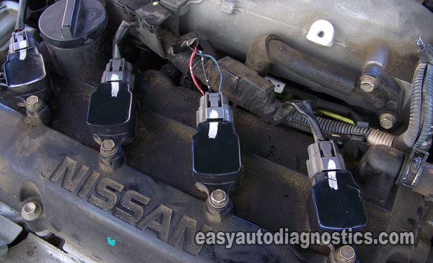 Nissan Rogue 2007 >> Part 1 -Coil-on-Plug (COP) Coil Test 2.5L Nissan Altima, Sentra (2002-2006)