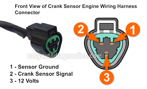 Part 1 -How to Test the Crank Sensor (1994-2004 3 0L Montero)