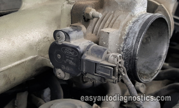 Part 1 How To Test The Throttle Position Sensor 4 2l Ford