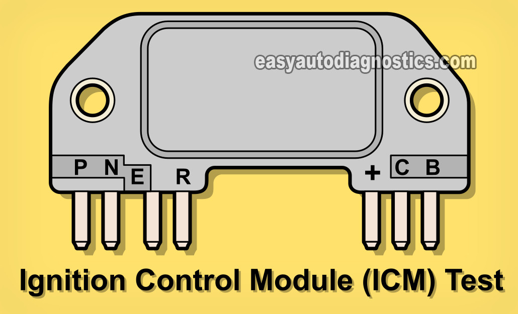 part 1 -how to test the ignition control module (2.8l v6 gm)  easyautodiagnostics.com