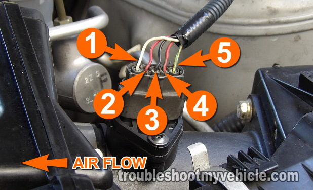 Part 1 -How To Test The MAF Sensor (2002-2003 3.5L Maxima)