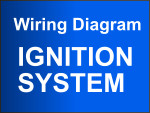 2001-2002 3.5L Nissan Pathfinder Ignition System Wiring Diagram