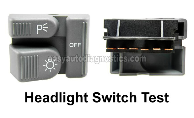 How To Test The Headlight Switch 1994 1997 Chevy S10 And Gmc Sonoma