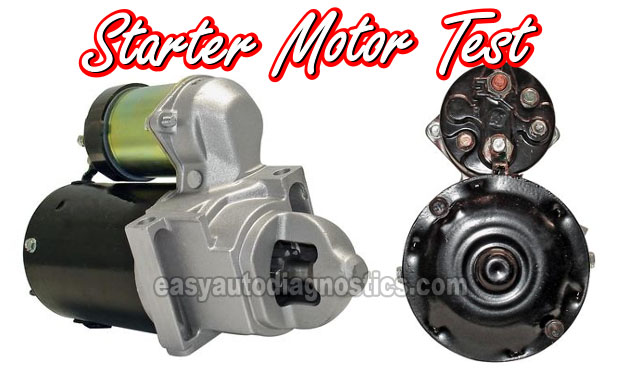 How To Test The Starter Motor (1996, 1997, 1998, 1999 5.0L, 5.7L Chevy/GMC Pick Up And SUV)