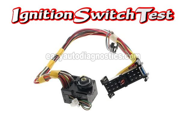 [DHAV_9290]  Part 1 -Testing The Ignition Switch (1997 Chevrolet/GMC Pick Up, Suburban) | 97 Tahoe Ignition Switch Wiring Diagram |  | easyautodiagnostics.com
