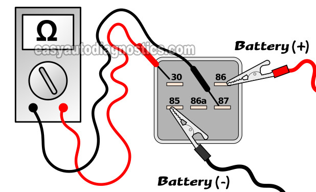 bench testing the fuel pump relay  how to test the fuel
