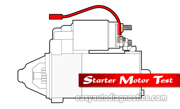 How To Test The Starter Motor (1992, 1993, 1994 3.0L Ford Ranger, Aerostar, And Mazda B3000)