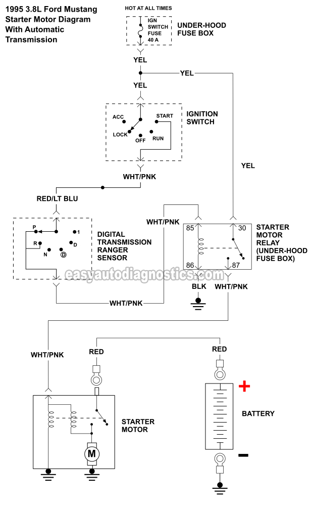 Image on 1996 Ford Mustang Wiring Diagram
