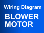 1991-1993 2.8L Chevy S10 Blower Motor Circuit Diagram