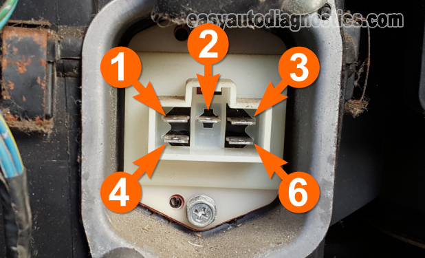 How To Test The Blower Motor Resistor (1990, 1991, 1992, 1993, 1994, 1995 3.0L Nissan Pathfinder, D21, And Pick Up)